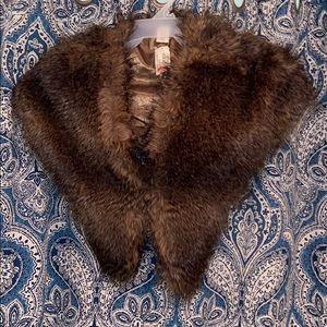FAUX Fur Scarf NWT